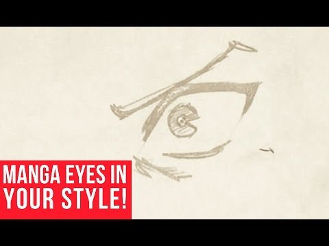 How To Draw Manga Eyes In Your Own Style