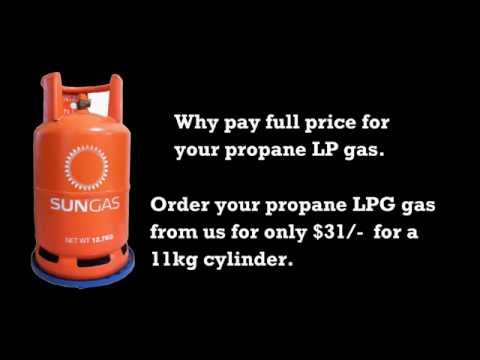 LPG 9Kg Propane Gas For Bbq Grills  Delivery Singapore