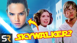 Star Wars Theory: Rey Could Still Actually Be A Skywalker