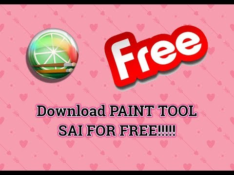 HOW TO DOWNLOAD PAINT TOOL SAI FOR FREE ll 2018 ll....included cheat