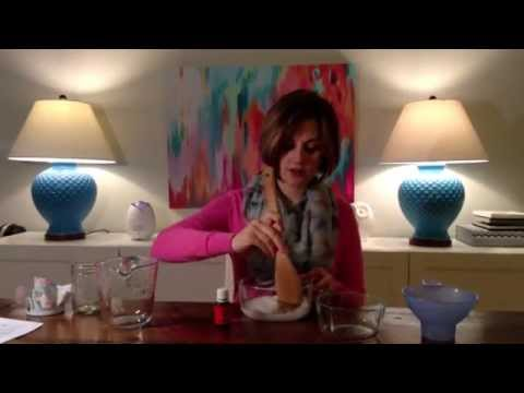 Citrus Salt Scrub with Young Living Essential Oils