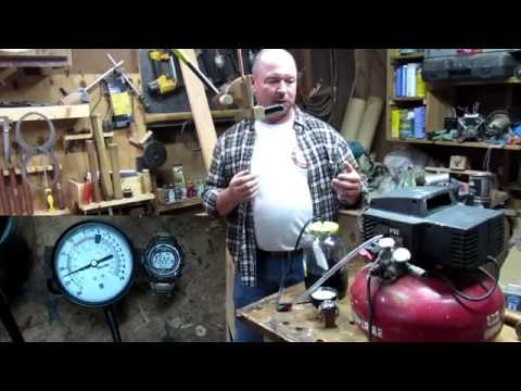 #96 Converting an Air Compressor into a Vacuum Pump