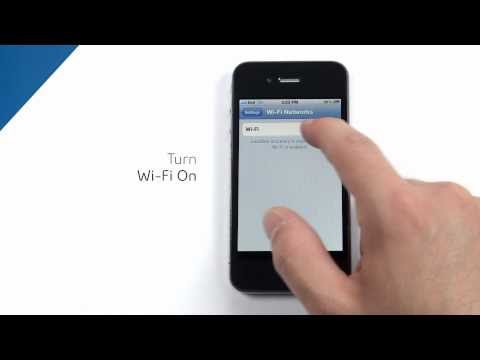How to connect your iPhone to a Wi-Fi network with Bell Canada