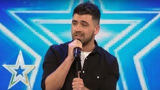 Christopher King goes country and gets a Golden Buzzer | Auditions Series 1 | Ireland's Got Talent