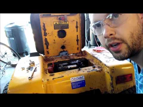Changing a Lawn Mower Battery Safely