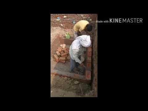 Septic tank construction...27-10-2017 BHATPURA(SIKANDRABAD)