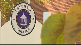 Columbia College on warning status