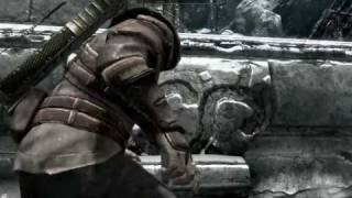 Skyrim Gameplay - Archer versus Bandits with ears and Chiefs without Eyes