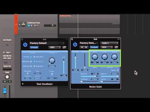 Kick Drum Enhancement in Logic Pro X