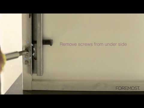 Bottom Screw Drawer Removal