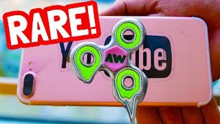 DIY MELTING FIDGET SPINNER for your PHONE!!! (EXTREMELY RARE)