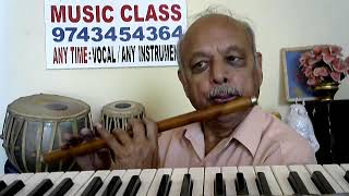 "Teree Meree""BODY GUARD""hindi FLUTE with KEYBOARD Instrumental Music"