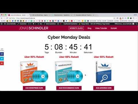 CYBER MONDAY Angebote - 60% Rabatt für WP/Woo/Adwords