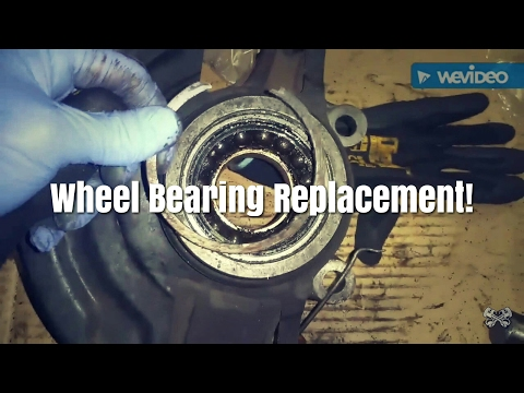 Here Is How To Replace A Nissan Altima/Maxima/Infiniti Wheel Bearing