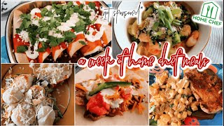 A FULL WEEK OF HOME CHEF MEALS *not sponsored*    Honest Review of Home Chef