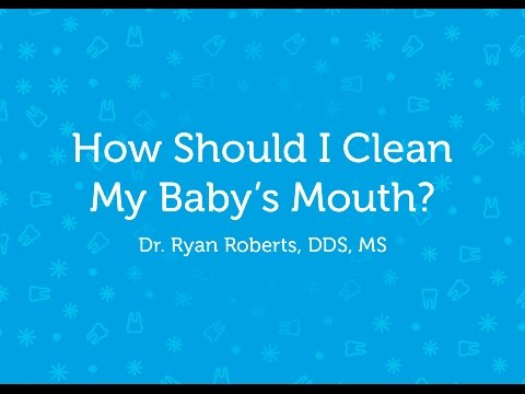 How to Clean Your Baby's Mouth