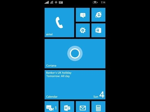 Quick review & test of Cortana on Windows phone 8.1 for lumia 520 525 920 925 1020