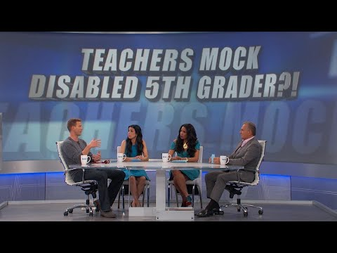 Teachers Mock Disabled 5th Grader?