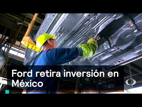 Ford retira inversión en México - Trump - Denise Maerker 10 en punto