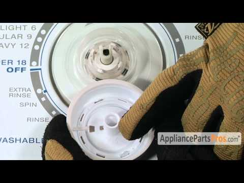 Washer Timer Knob (part #W10807860) - How To Replace