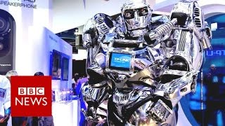 CES 2017: 50 years of gadgets at the giant tech show - BBC News