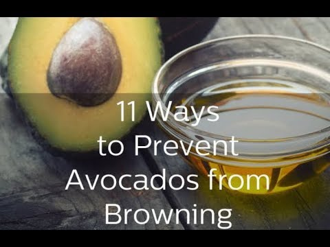 The Trick to Stop Avocados from Browning
