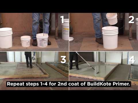 Rust-Oleum Industrial- Flooring Application- Parking Garage