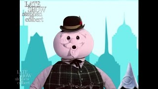 Sam The Snowman Tells The Tale Of The Late Show And The Winter Storm