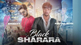 New Punjabi Lyrical Song 2016 | Black Sharara |  Sumit Malhotra ft. Shobayy | Official Video