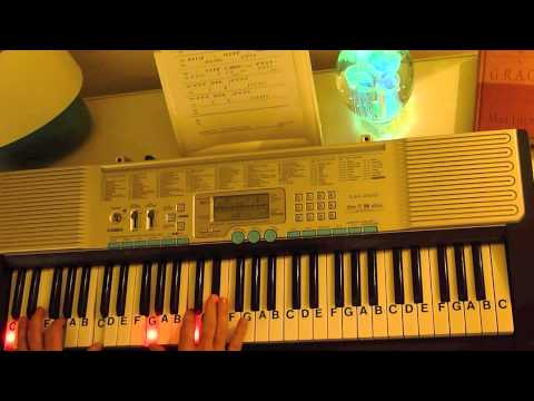 How to Play ~ Beethoven's 5th Symphony ~ Opening Theme ~ LetterNotePlayer ©