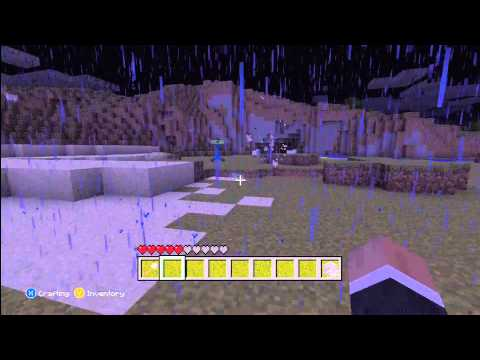 Super Charged Creeper on XBOX 360 Minecraft