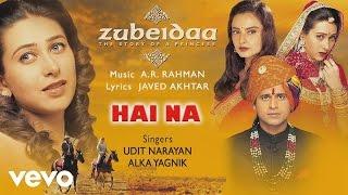 Hai Na - Official Audio Song   Zubeidaa   A.R. Rahman