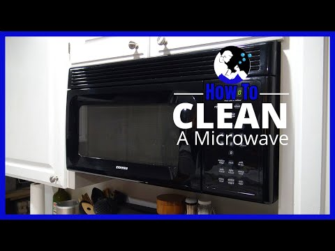 How To Clean a Microwave in 4 Steps