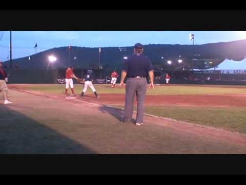 California Golden Gaters vs. USA Travel Baseball July 2009 Cooperstown New York