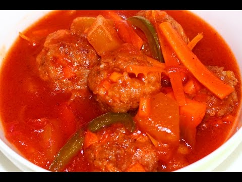 How to Cook Sweet & Sour Meatballs Recipe - English