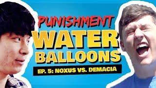 Water Balloons & Noxus vs. Demacia - C9 LoL | HTC Trials Ep. 5