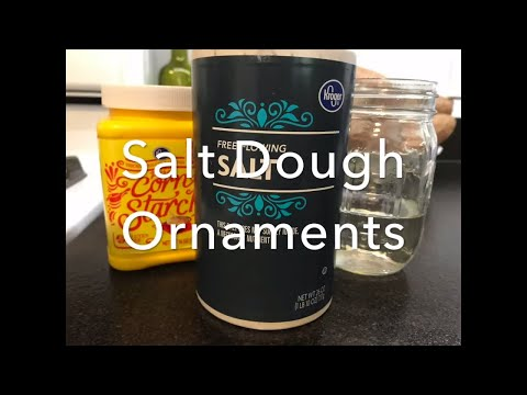 Gluten Free Salt Dough for ornaments