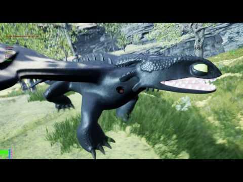 Unreal Engine 4 Night Fury
