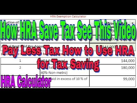 How  HRA Save Tax See This Video, Importance of HRA for Tax Saving, Tax Saving Tips and trics