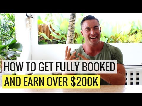 How To Get Fully Booked and Earn Over $200k [Personal Trainer Case Study]