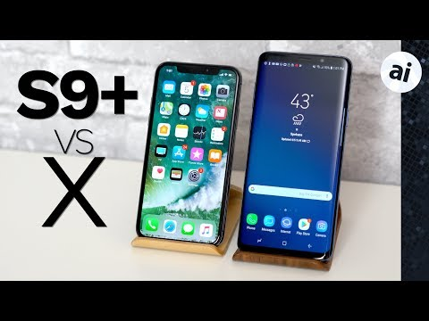 Galaxy S9+ vs iPhone X - Full Comparison & Analysis!