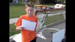 Aiden Ewe S Hockey Puck Science Project