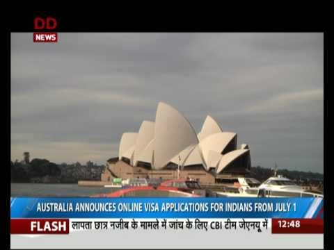 Australia announces online visa applications for Indians from July 1