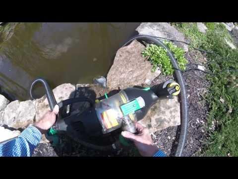 Pond Monsta vacuum