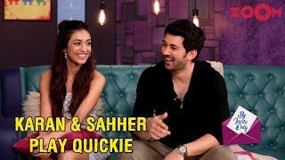 Karan Deol and Sahher Bambba answer quick fun questions in the segment Quickie | By Invite Only