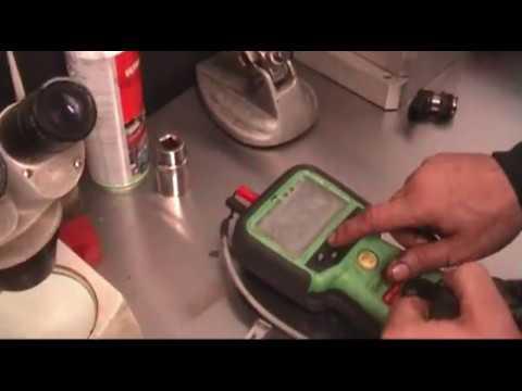 Testing a diesel injector solenoid