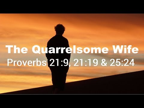 The Quarrelsome Wife Nagging Thoughts