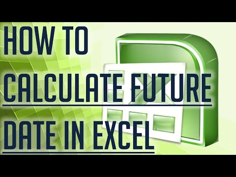 [Free Excel Tutorial] HOW TO CALCULATE A FUTURE DATE IN EXCEL - Full HD
