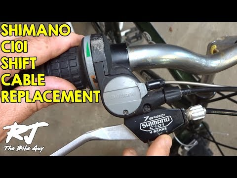 How To Replace Shifter Cable On Shimano C101 Revoshift Shifters