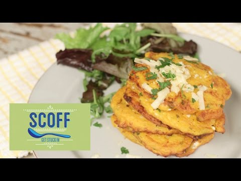 Butternut Squash Fritters | Cooking For Kids 4